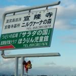 宣隆寺となりサラダの国で歴史講座!